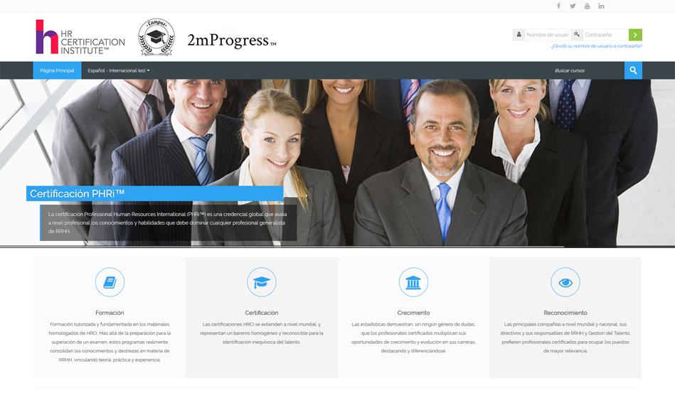 Campus HRCI 2mProgress por Talento y Tecnología
